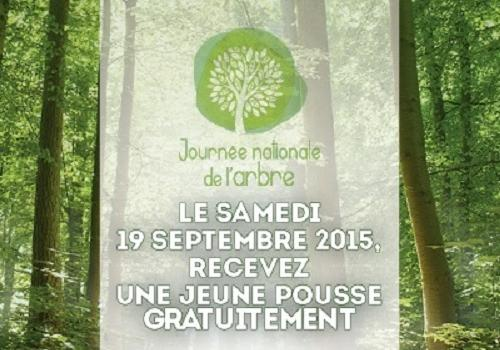 Journée nationale de l'arbre 2015